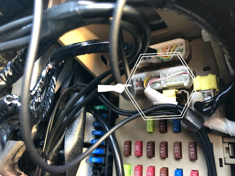 アイサイト ブレーキランプ確認LED灯