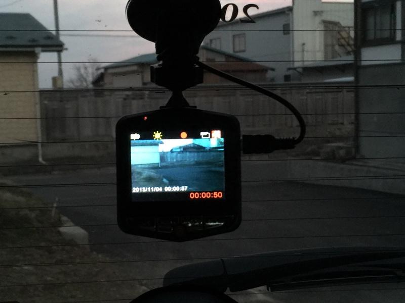 後部ドライブレコーダー電源接続