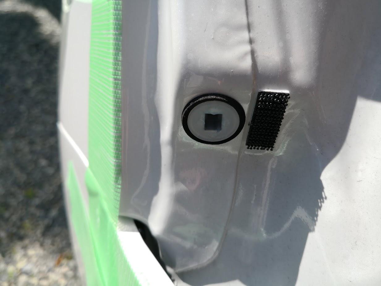 ODO1628km ウインカー・バックランプLED化 ②