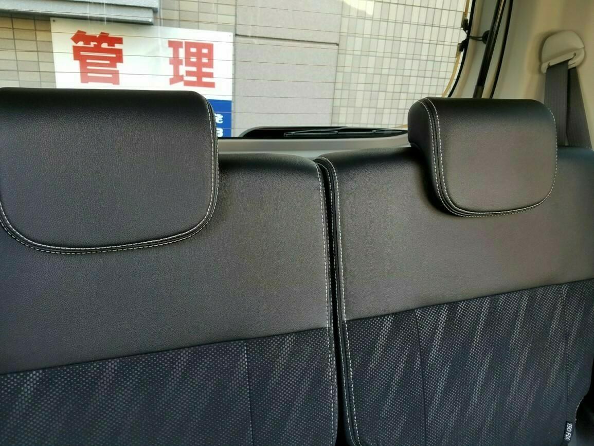 本革巻きステアリング&レザー調シートの手入れをしました✨(2018.03.11)