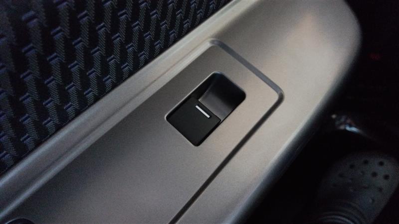 フリードハイブリッドG EXグレードの助手席側パワーウインドスイッチに交換