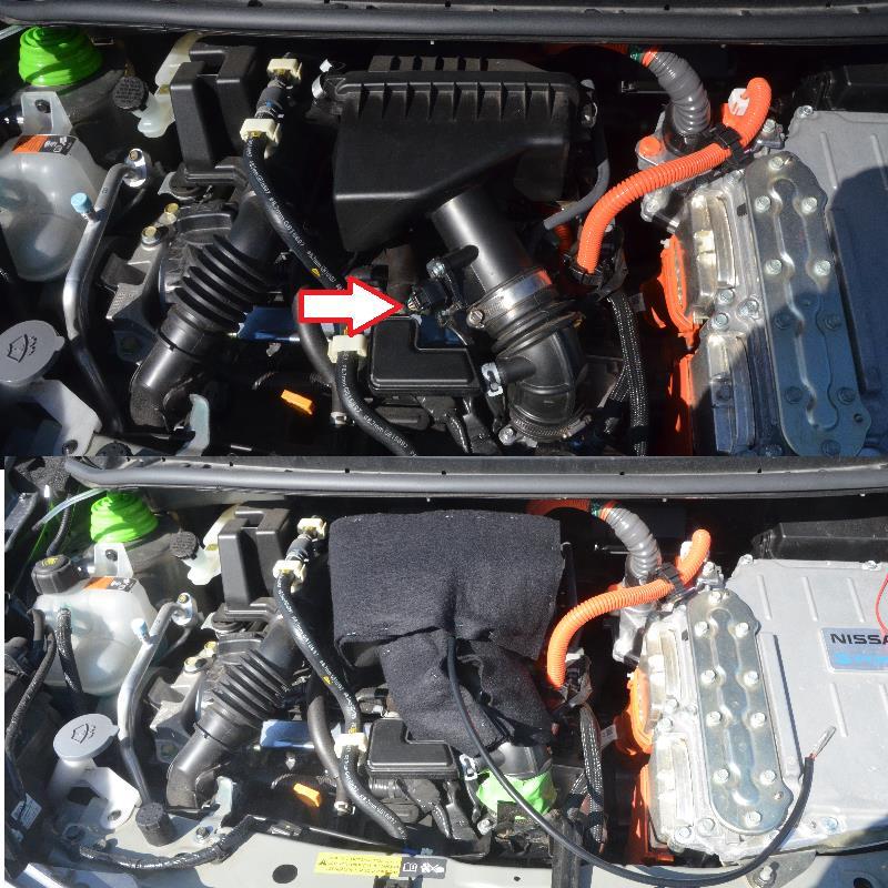 冬燃費対策 その3 吸気系対策