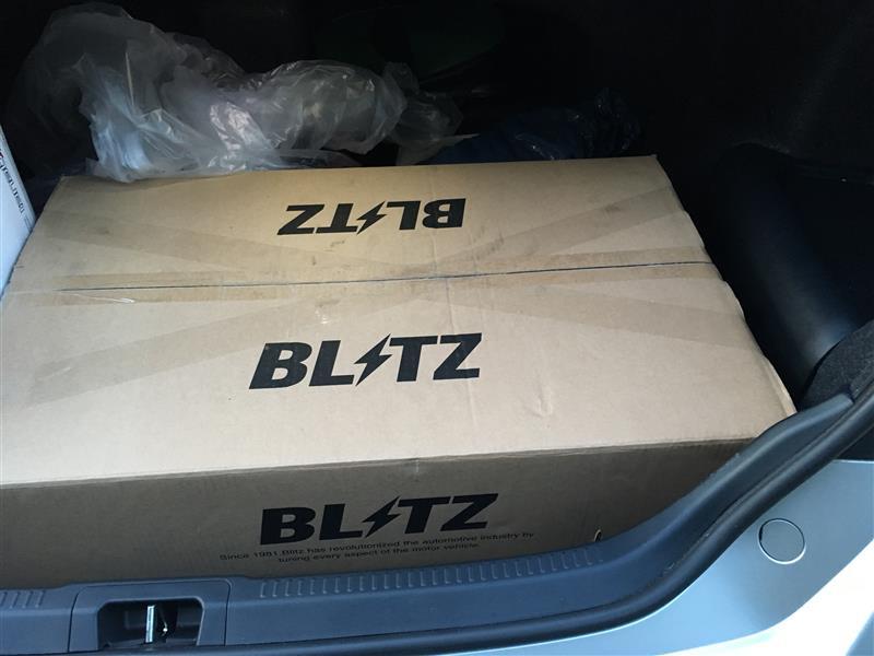 ブリッツ車高調‼️