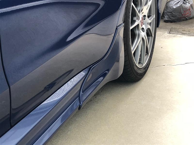 サイドストレーキ塗装