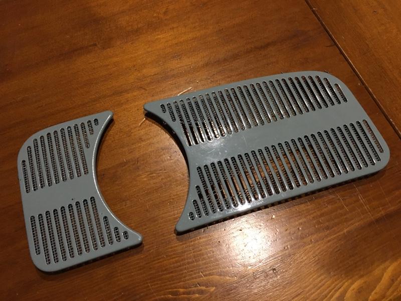 空冷ビートル スピーカーグリル ネット 交換