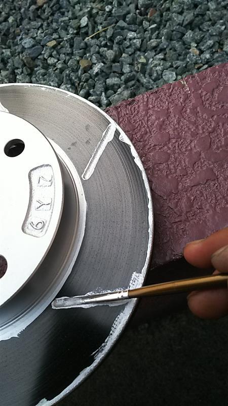 スリットローター塗装組み付け (^_^)v