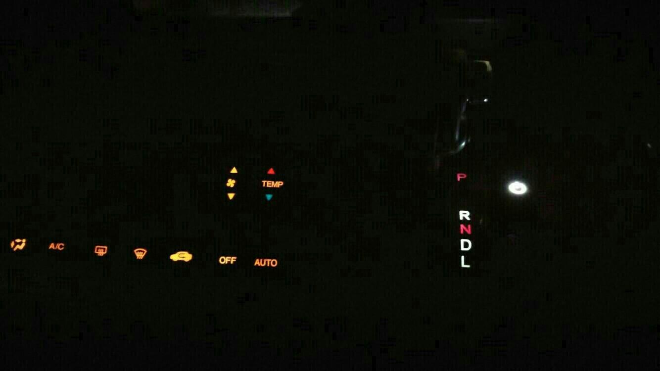 シフトポジションランプ LED 化