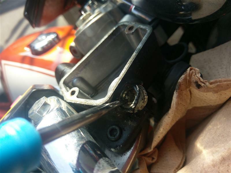 ブレーキマスター点検窓の交換の巻
