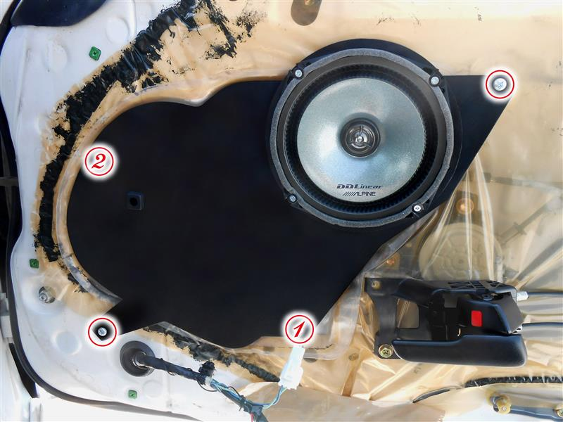 17cmスピーカー用 自作バッフルボード