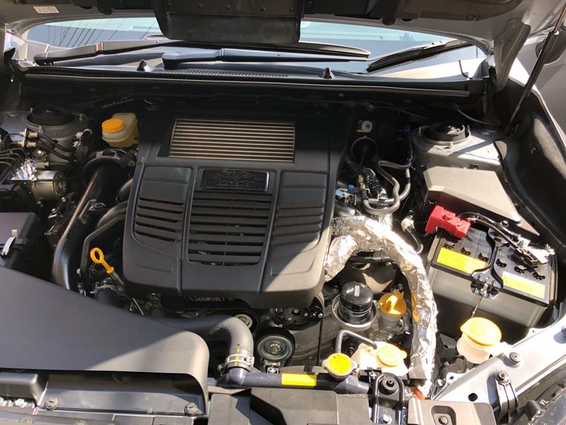 エンジンルーム内エアコンパイプ断熱化