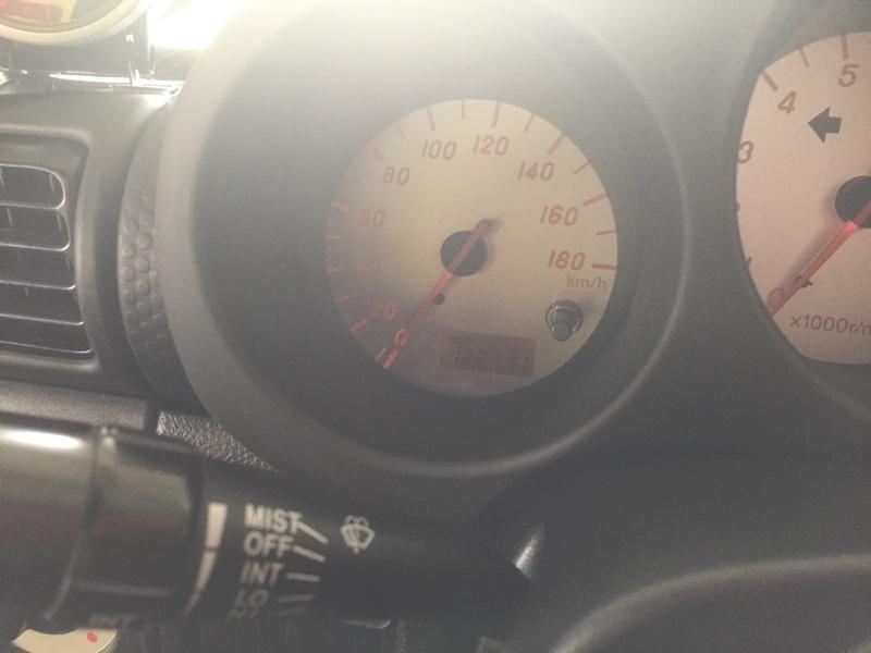 エンジンオイル交換 122,111km