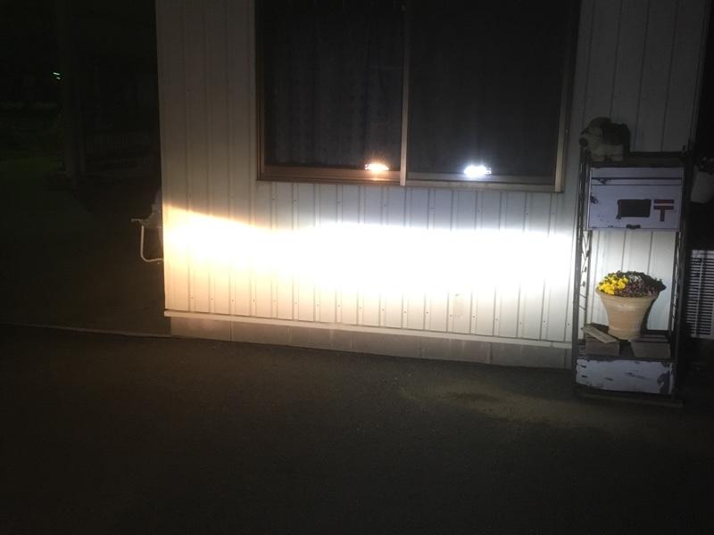 ヘッドライト LED化