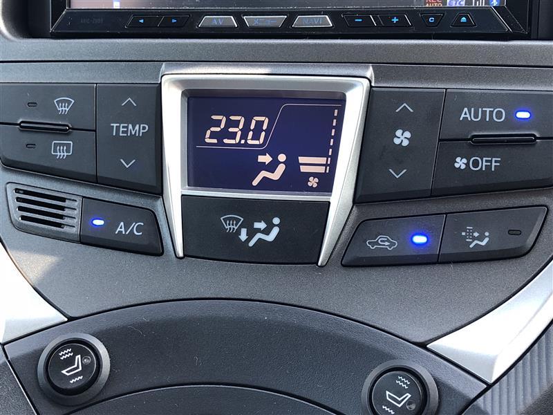 エアコンコントロールASSY表示反転