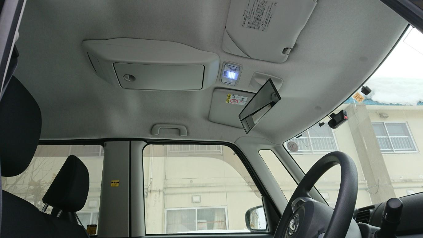 LA600タント天井オーバーヘッドコンソール取り付け