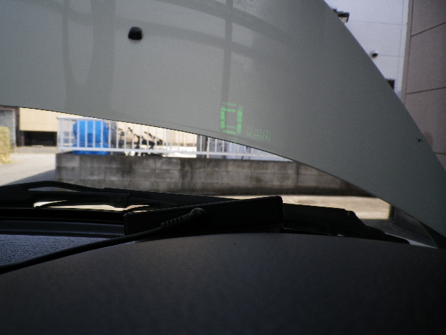 コペン スピードメーター取付(HUD GPSタイプ)その1