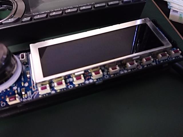 ALPINEのプロセッサーのスイッチが効かなくなったのでメンテナンス!