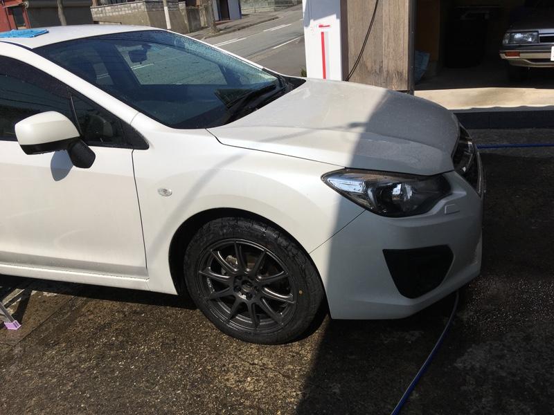 インプ洗車! 笑