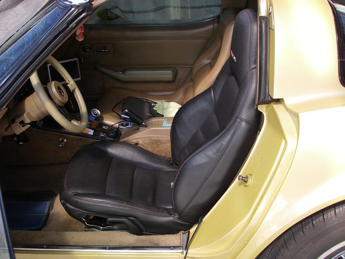 C6 Z06シート装着 その1