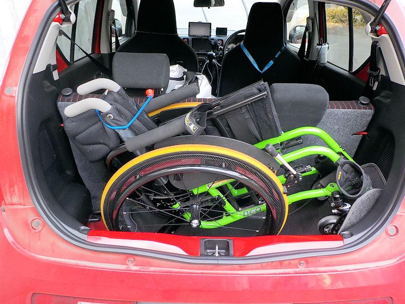 車椅子積載