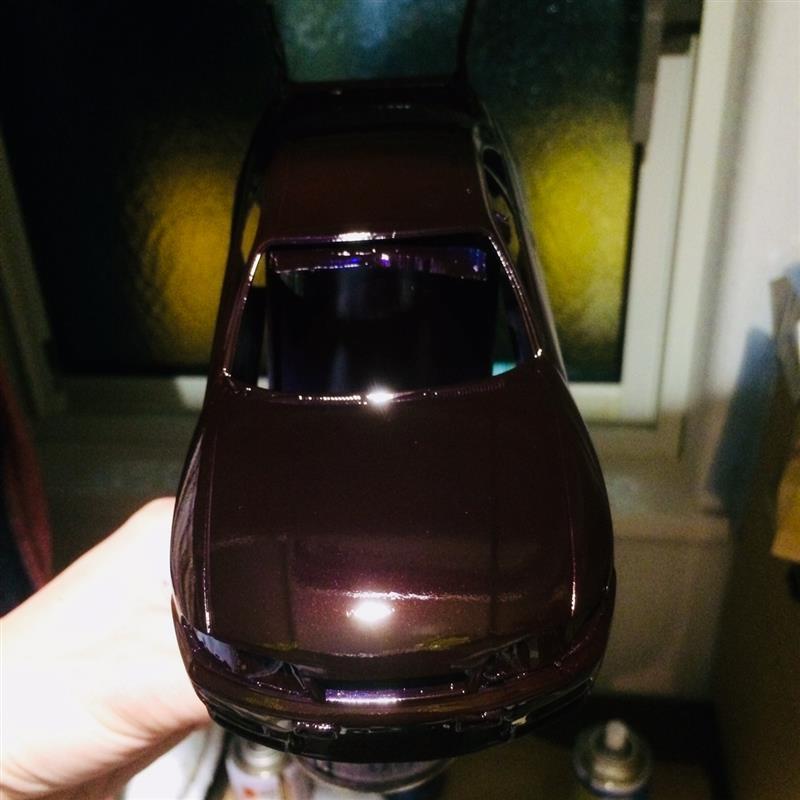 ホイールDIY塗装完結変(態)