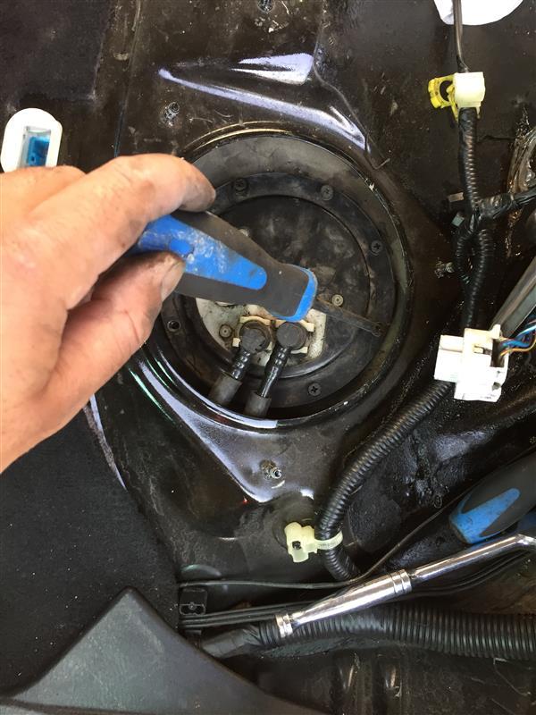 燃料計の修理