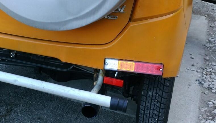 【HB25S/1型】トヨタ純正テール取付記録