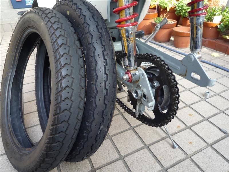 タイヤ交換備忘録 カブの良さを再確認!