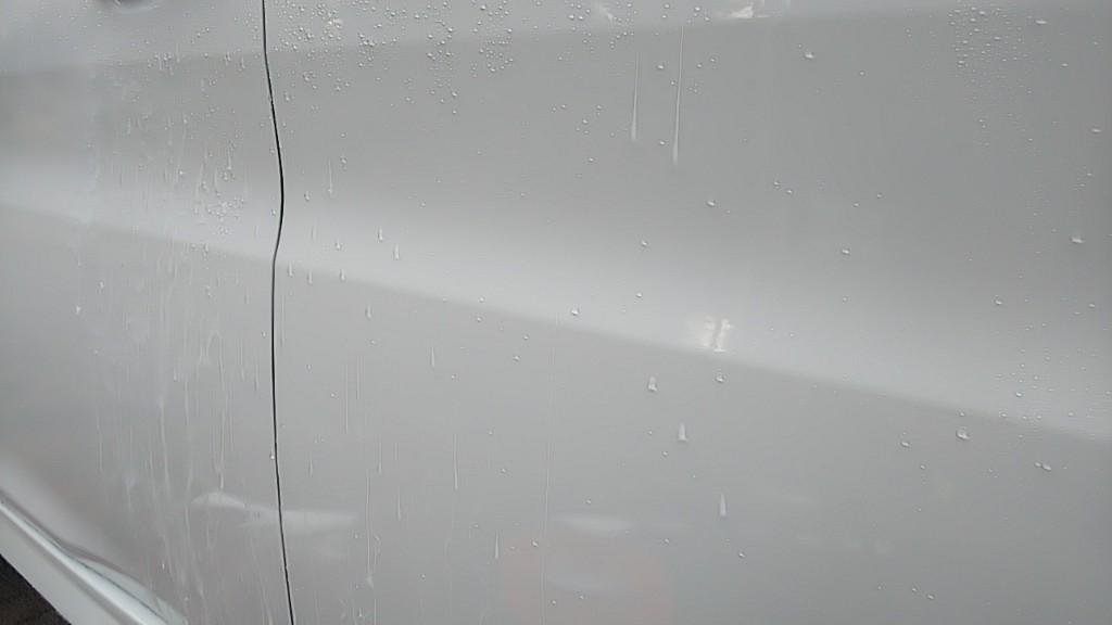 経過観察用。ハイテクX-1ダイヤモンド 二回目洗車 下に動画を置いております。