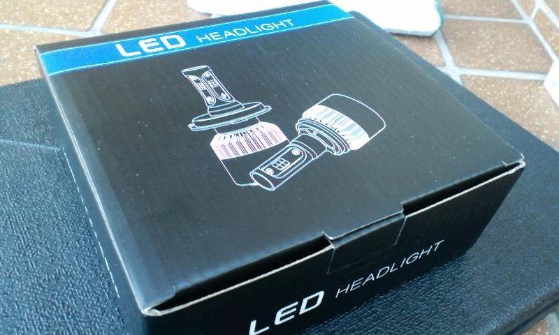 ハイビーム LED(8000LM)インストール