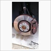 ローター、パッド、タイヤ交換の画像