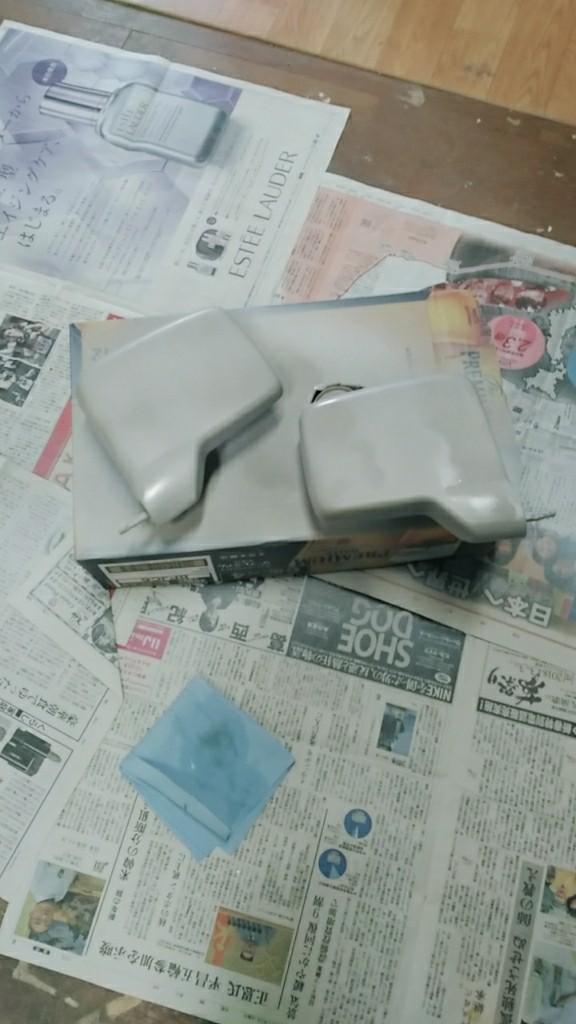 【NV100 クリッパー】ミラー塗装(2年ぶり2回目w)
