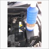 バッテリー液補充の画像