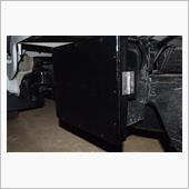 サンバートラックのバッテリーカバーを作製しましたの画像