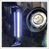 COB LED デイライト取付の画像