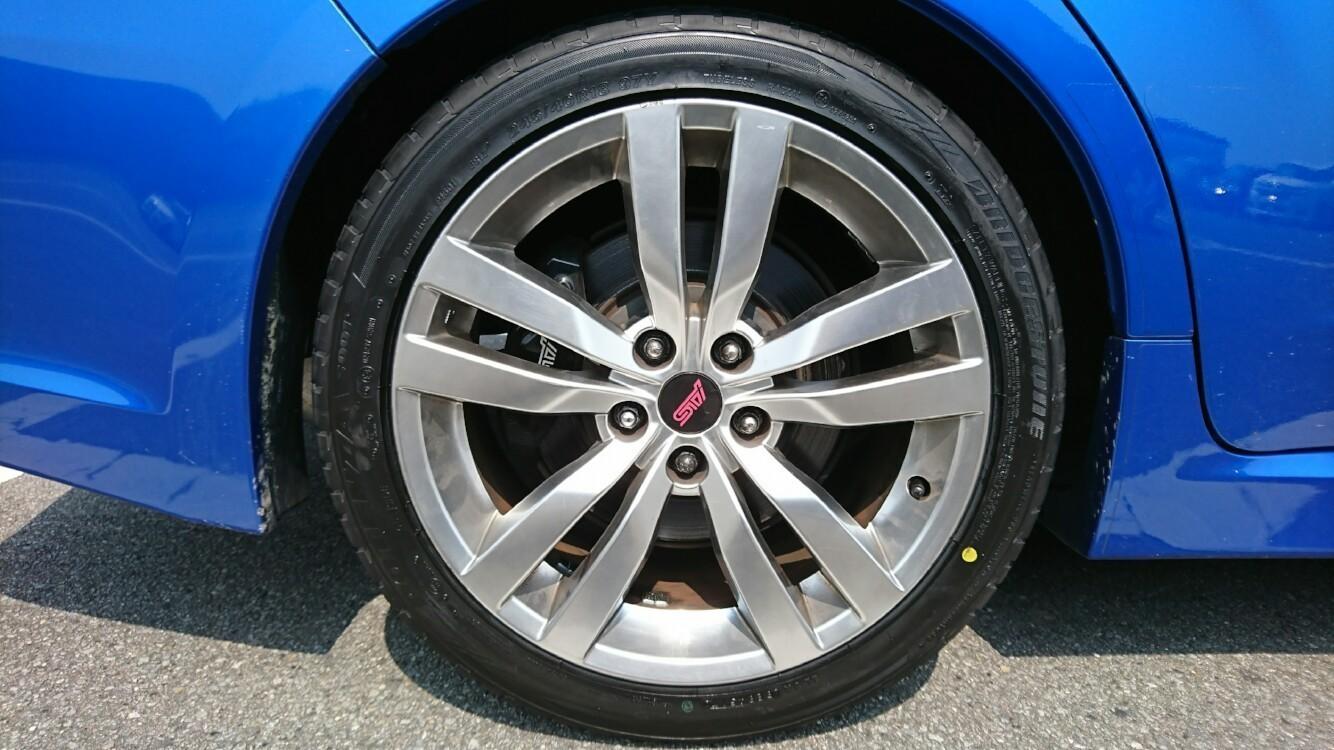 車検(5年目)&タイヤ交換