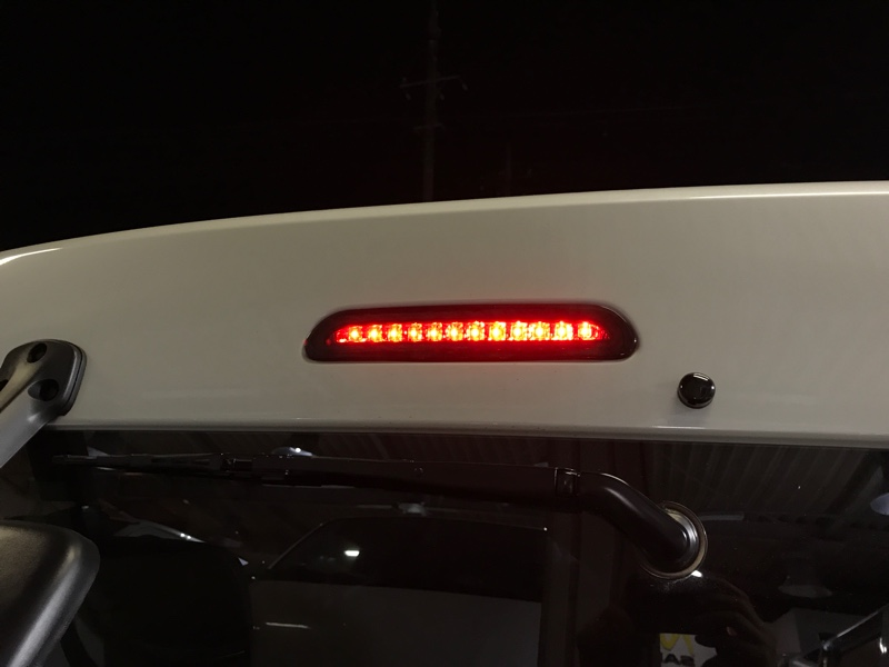 ハイマウントストップランプ LED化