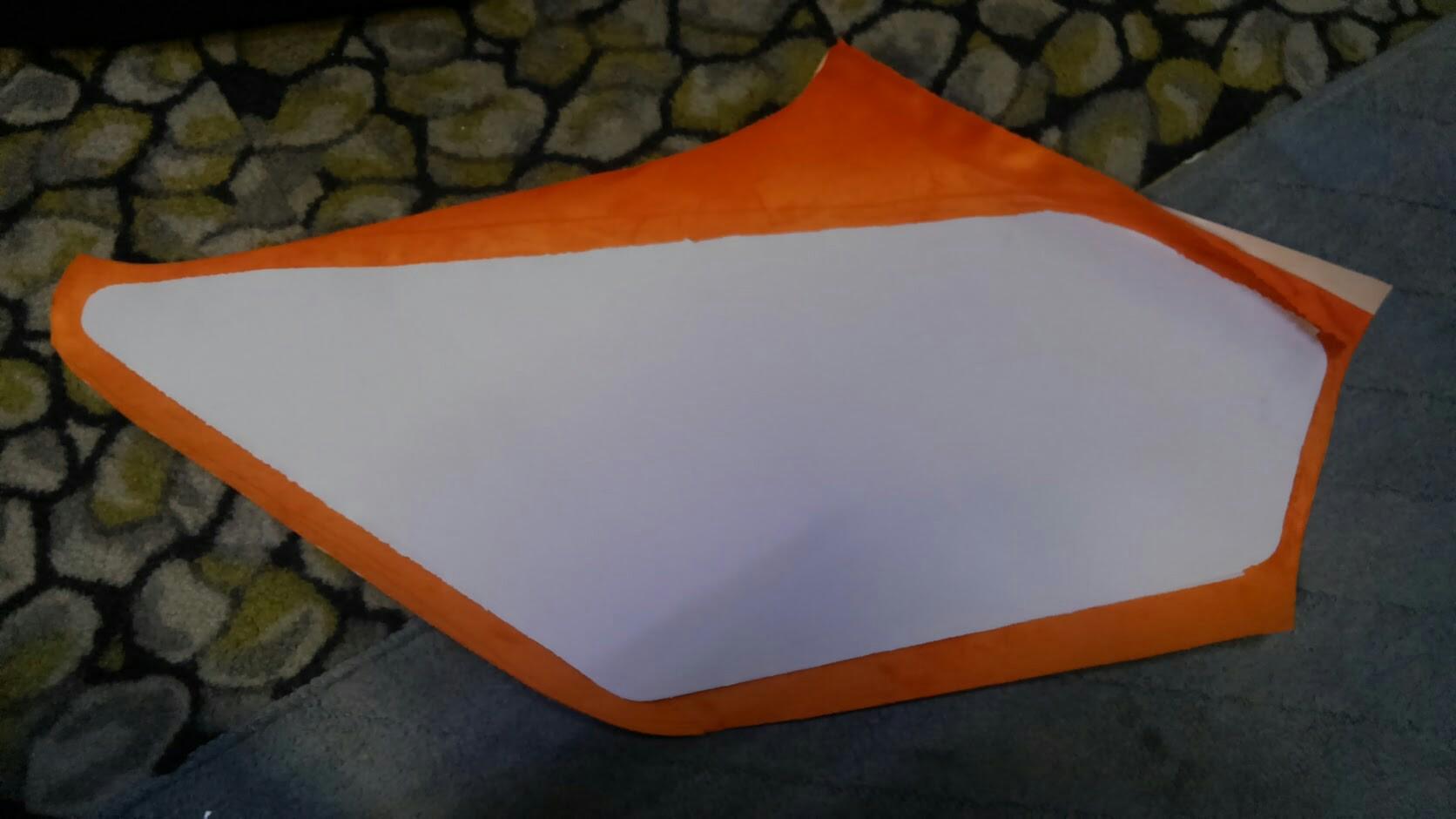 ドアライニングパネル改装