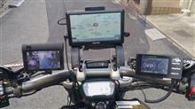 XディアベルS バイク用ナビ制作 クレイドル式のカスタム手順1