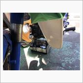 街のバイク屋さんにて