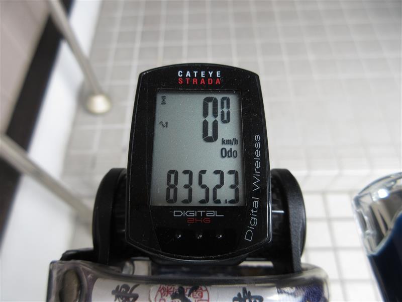 タイヤローテーションと10回目メンテ(8352.3km)