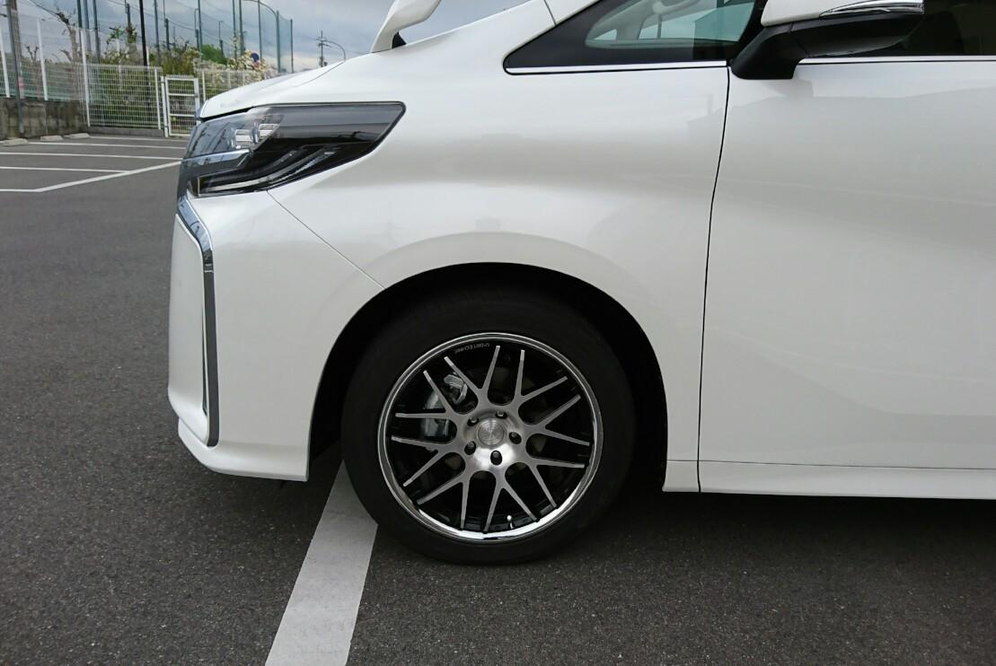 タイヤ、ホイール検討