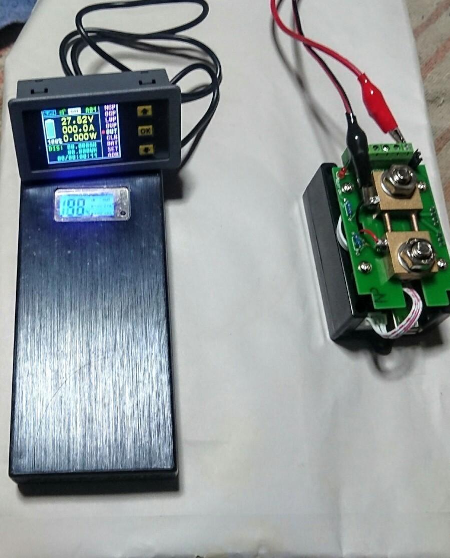 バッテリーモニター取りましたです❗