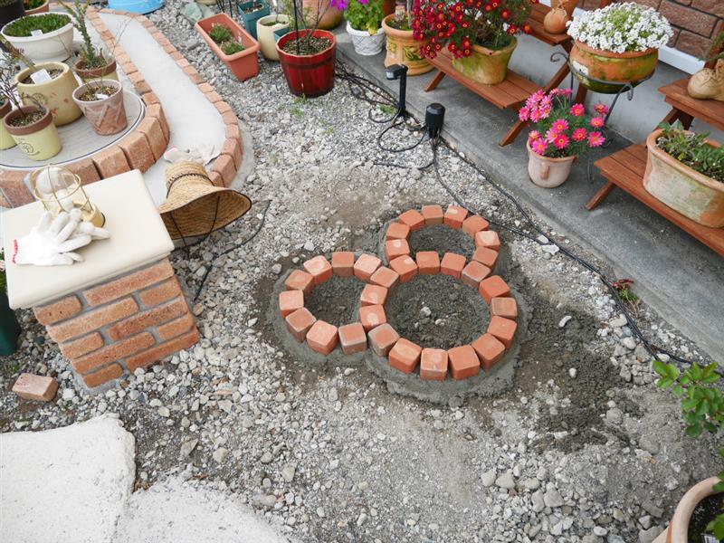 第10、11花壇の作製