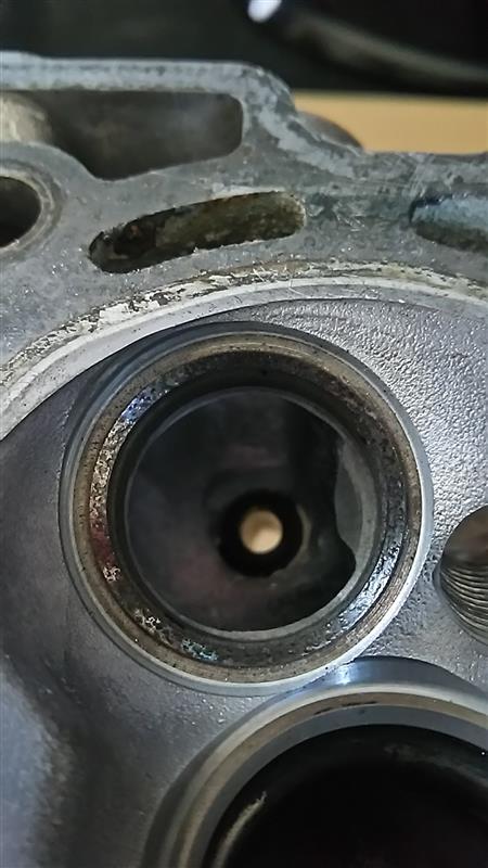 F6Aオイル下がり修理 3