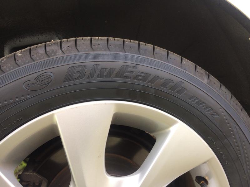 タイヤ交換  30.4.12