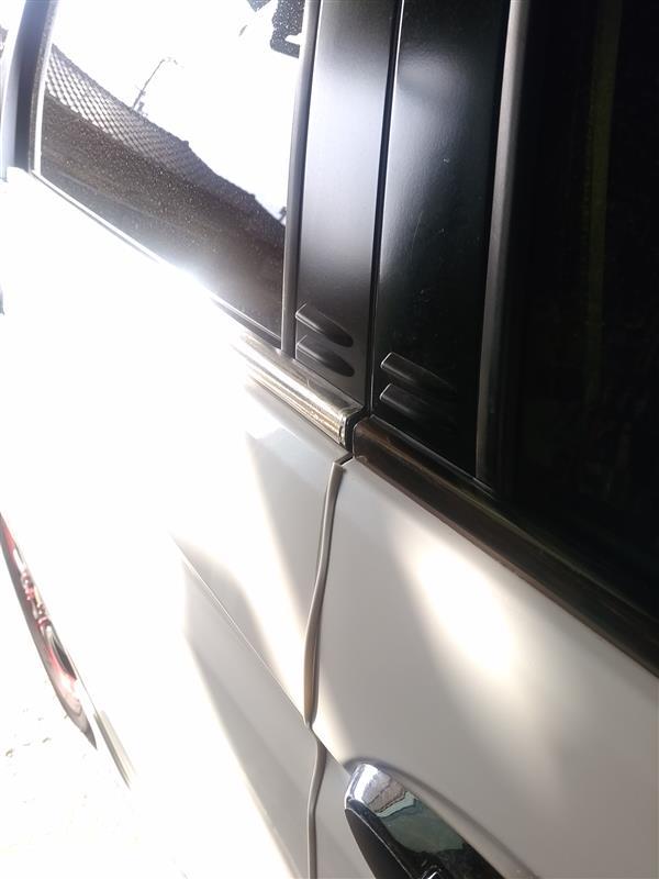ミラー クロム メッキ カーラッピング ビニール 152cm×30cm 交換 ②