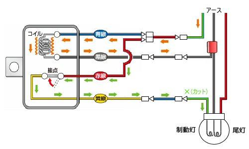 ブレーキランプLED化漏れ電流対策 -其の2-