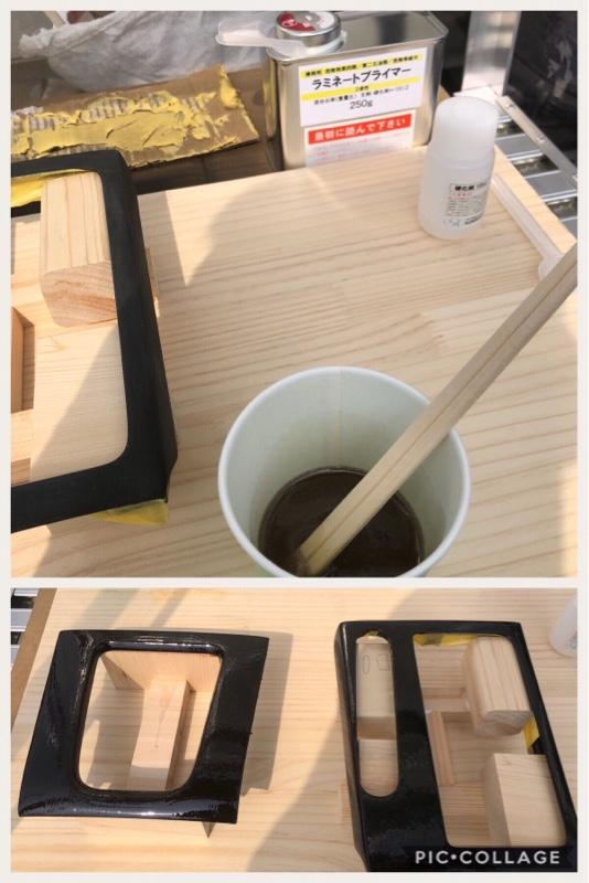 内装パネル リアルカーボン化 其の弐 〜クロス貼り、樹脂塗り編〜