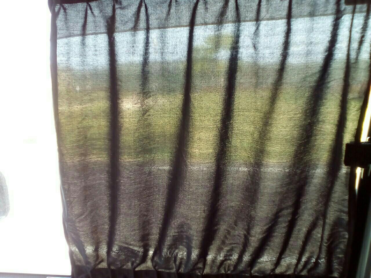 遮光カーテンに交換しました