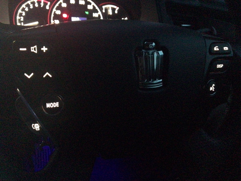 LED打ち替え   ステアリング